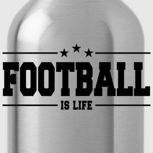 football is life 1 Long Sleeve Shirts - Water Bottle