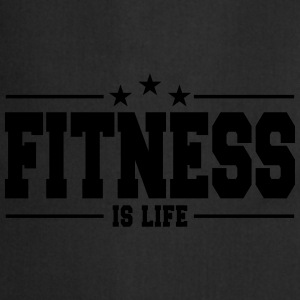 fitness is life 1 Vêtements Sport - Tablier de cuisine