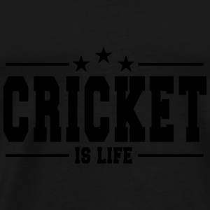 cricket is life 1 Tops - Mannen Premium T-shirt