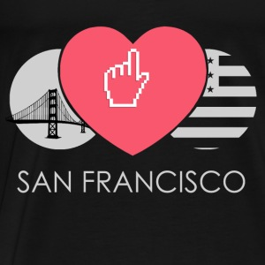 IN LOVE WITH SAN FRANCISCO Baby Langarmshirts - Männer Premium T-Shirt