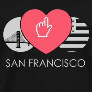 IN LOVE WITH SAN FRANCISCO - Männer Premium T-Shirt
