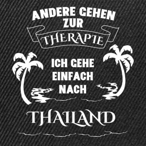 Thailand - holiday - therapy Shirts - Snapback Cap