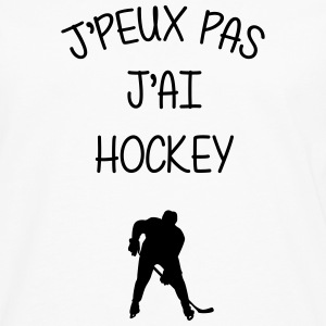 Hockey sur glace / Hockeyeur / Patinoire / Patins Tabliers - T-shirt manches longues Premium Homme