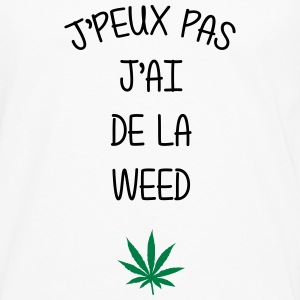 Weed Cannabis Alcool Drogue Fête Herbe Tee shirts - T-shirt manches longues Premium Homme