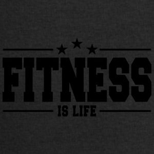 fitness is life 1 Caps & Hats - Men's Sweatshirt by Stanley & Stella