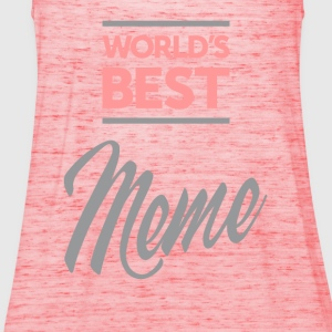 World's Best Meme Ever Tees - Women's Tank Top by Bella