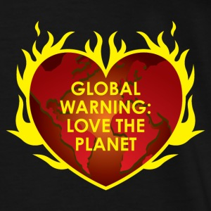 GLOBAL WARNING Sweaters - Mannen Premium T-shirt