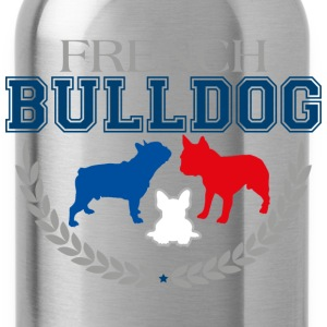 French Bulldog College - Trinkflasche