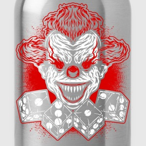 Football - Club - logo - clown T-Shirts - Water Bottle