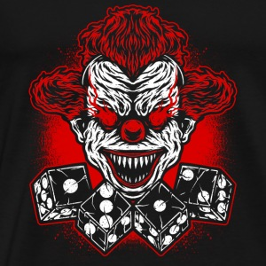 Football - clown Club - logo- Vêtements de sport - T-shirt Premium Homme