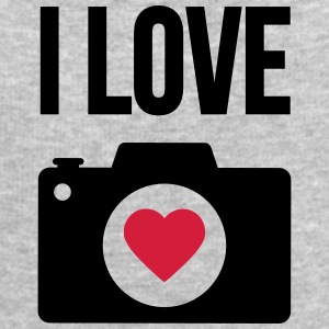 i love photography T-Shirts - Men's Sweatshirt by Stanley & Stella