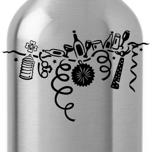 Silvester, Party, Karneval, New Years Eve T-Shirts - Water Bottle