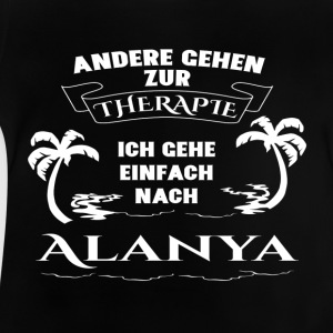 Alanya - terapi - ferie T-shirts - Baby T-shirt
