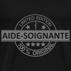 aide-soignante limited  Sweat-shirts - T-shirt Premium Homme