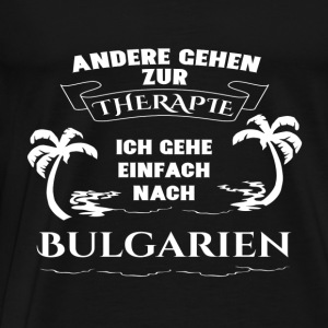 Bulgaria - therapy - holiday Long Sleeve Shirts - Men's Premium T-Shirt
