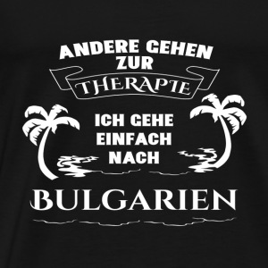 Bulgaria - therapy - holiday Sports wear - Men's Premium T-Shirt