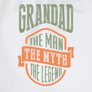 Grandad The Man The Myth | T-shirt Gift! - Drawstring Bag