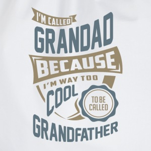 I'm Called Grandad. Perfect T-shirt Gift! - Drawstring Bag