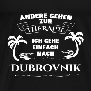 Dubrovnik - therapy - holiday Baby Bodysuits - Men's Premium T-Shirt