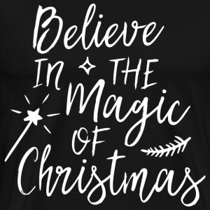 Believe in the magic of Christmas Pullover & Hoodies - Männer Premium T-Shirt