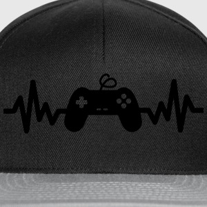 Gaming is life - geek gamer nerd  - Snapback Cap
