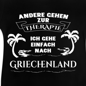 Greece - therapy - holiday Shirts - Baby T-Shirt