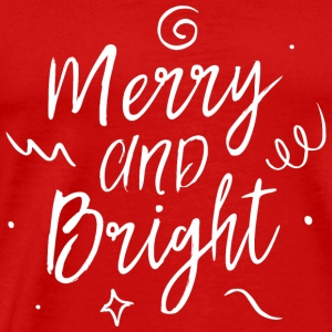 Merry and Bright Sportbekleidung - Männer Premium T-Shirt
