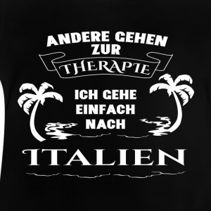 Italien - terapi - ferie T-shirts - Baby T-shirt