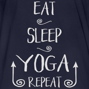 Eat Sleep Yoga Pullover & Hoodies - Männer Bio-T-Shirt
