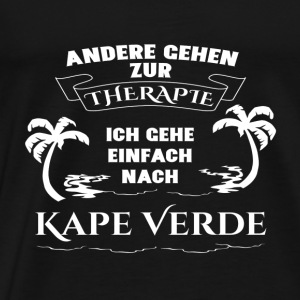 Capes Verde - therapy - holiday Sports wear - Men's Premium T-Shirt