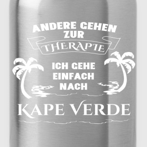 Capes Verde - therapy - holiday T-Shirts - Water Bottle