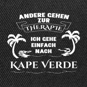 Capes Verde - therapy - holiday T-Shirts - Snapback Cap