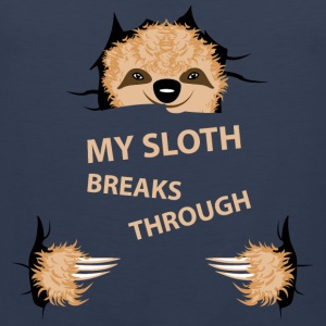 my sloth breaks trouth Tee shirts - Débardeur Premium Homme