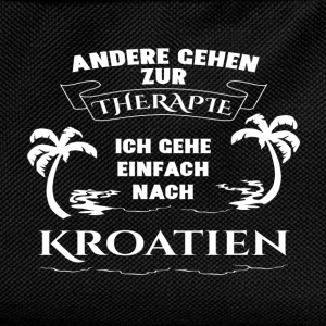 Croatia - therapy - holiday T-Shirts - Kids' Backpack