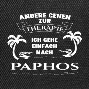 Paphos - therapy - holiday Long Sleeve Shirts - Snapback Cap
