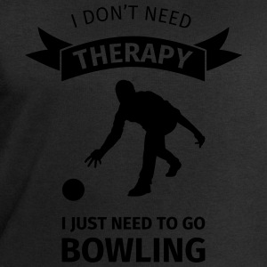 I don't need therapy I just need to go Bowling T-shirts - Mannen sweatshirt van Stanley & Stella
