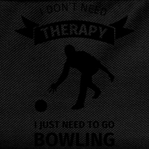 I don't need therapy I just need to go Bowling T-shirts - Rugzak voor kinderen