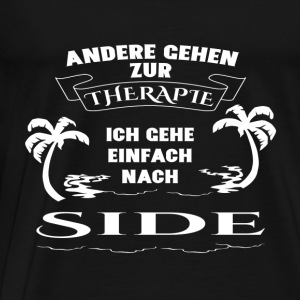 Side - therapy - holiday Long Sleeve Shirts - Men's Premium T-Shirt