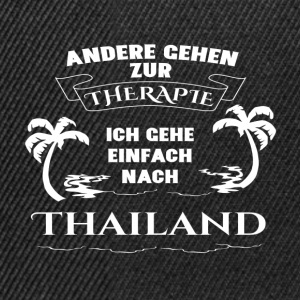 Thailand - therapy - holiday Tops - Snapback Cap