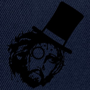 Sir gentlemen glasses cylinder monocle jesus thorn T-Shirts - Snapback Cap