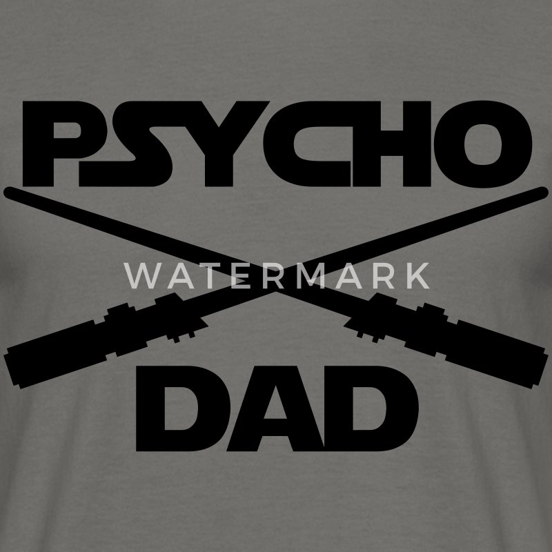 PSYCHO DARTH VADER DAD T-Shirts - Männer T-Shirt