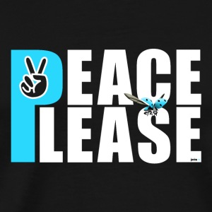 Please Peace_ - Männer Premium T-Shirt