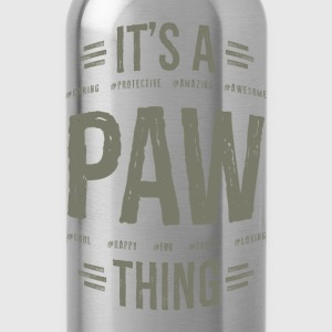 Paw T-shirts Gifts - Water Bottle