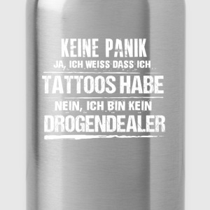 tattoos - Trinkflasche