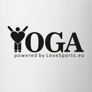 YOGA powered by LoveSports - Tasse
