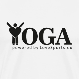 YOGA powered by LoveSports - Männer Premium T-Shirt