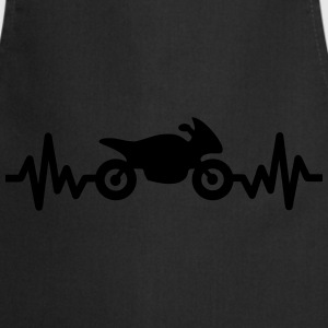 Bike is life - Motorbike , motor T-shirts - Keukenschort