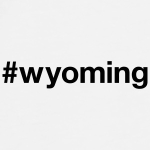 WYOMING Caps & Hats - Men's Premium T-Shirt