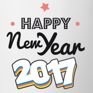 happy new year  2017 coul - Tasse