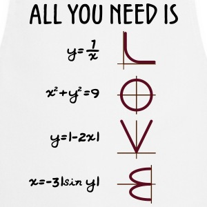 All you need is Love (Equations) - Kochschürze